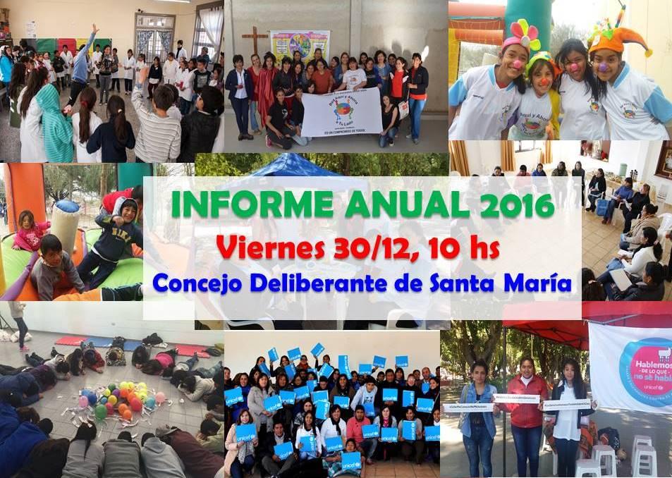 informe red 2016