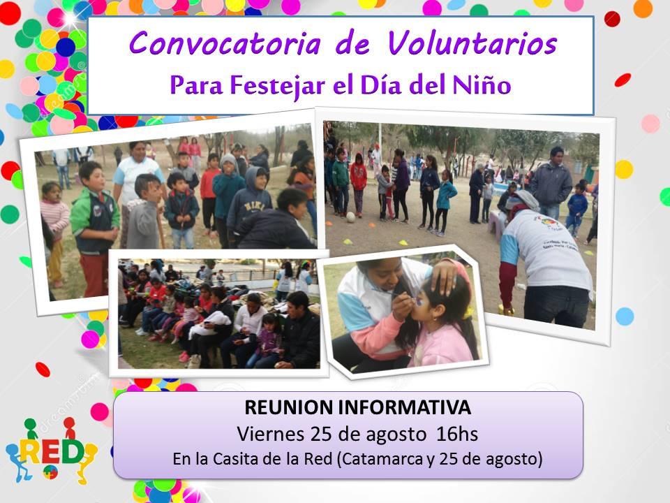 voluntarios dia del niño