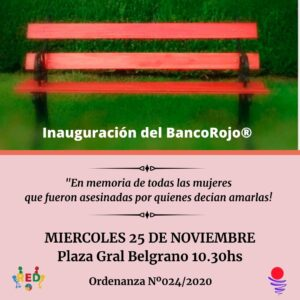 Campaña Internacional BancoRojo®
